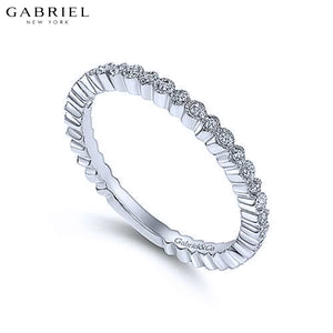 0.10cts Natural Diamond Ring 1.7mm