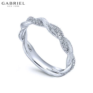 14kt 0.20ctw Natural Diamond Ring 3.2mm