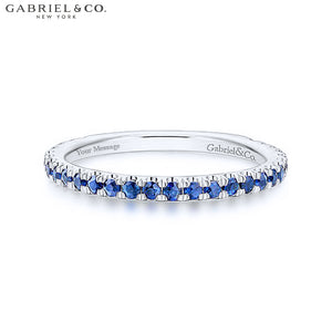 14kt Blue Sapphire Ring