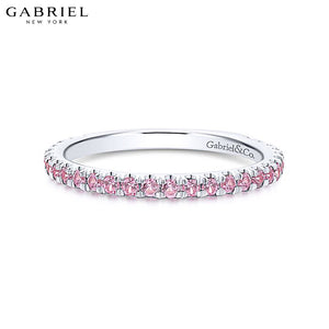 14kt Pink Sapphire Ring