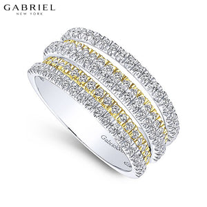 14kt 0.95ctw Natural Diamond Ring