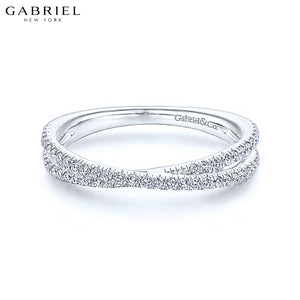 14kt 0.28ctw Natural Diamond Ring 3.5mm