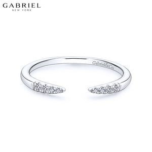 14kt 0.05ctw Natural Diamond Ring