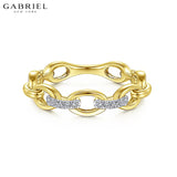 14kt 0.06ctw Natural Diamond Ring