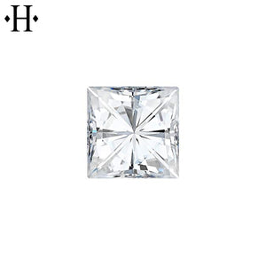 5.5mm Square Moissanite AA Lab Grown