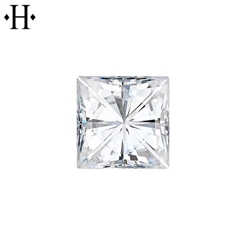 6.0mm Square Moissanite
