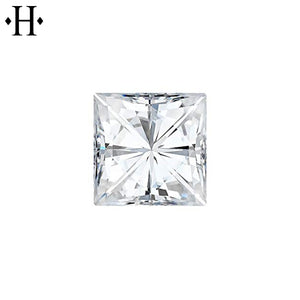 6.0mm Square Moissanite AA Lab Grown