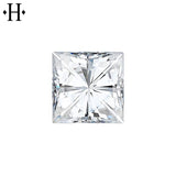 6.5mm Square Moissanite AA Lab Grown
