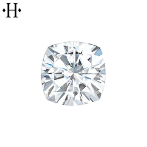 7.0mm Cushion Moissanite AA Lab Grown