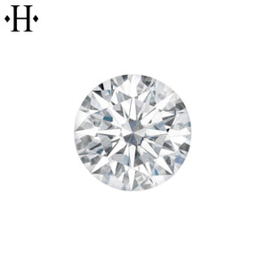 7.0mm Round Moissanite AA Lab Grown