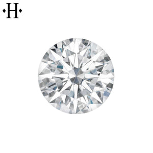 8.0mm Round Moissanite AA Lab Grown