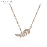 14kt 0.04ctw Natural Diamond Necklace