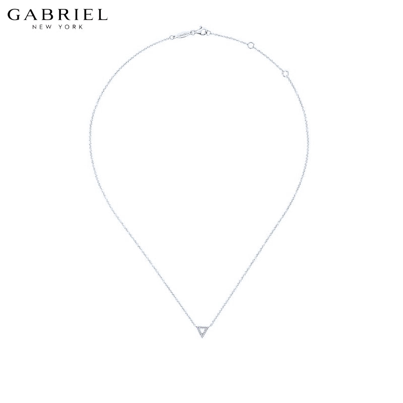 14kt 0.05ctw Natural Diamond Necklace
