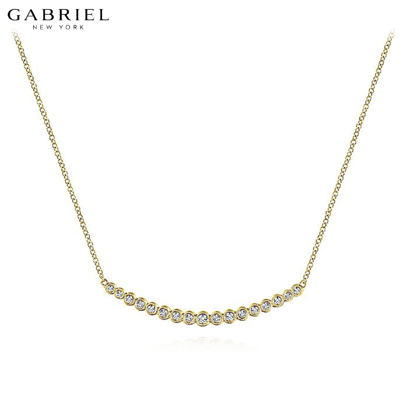 14kt 0.23ctw Natural Diamond Necklace