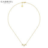 14kt 0.19ctw Natural Diamond Necklace