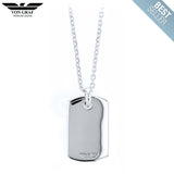 Sterling Silver Cavalry Dog Tag