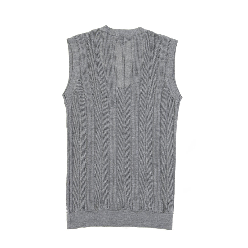 Merino Silk Sleeveless Sweater