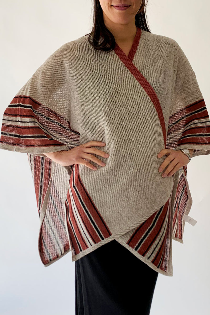 Linen Stripe Wrap