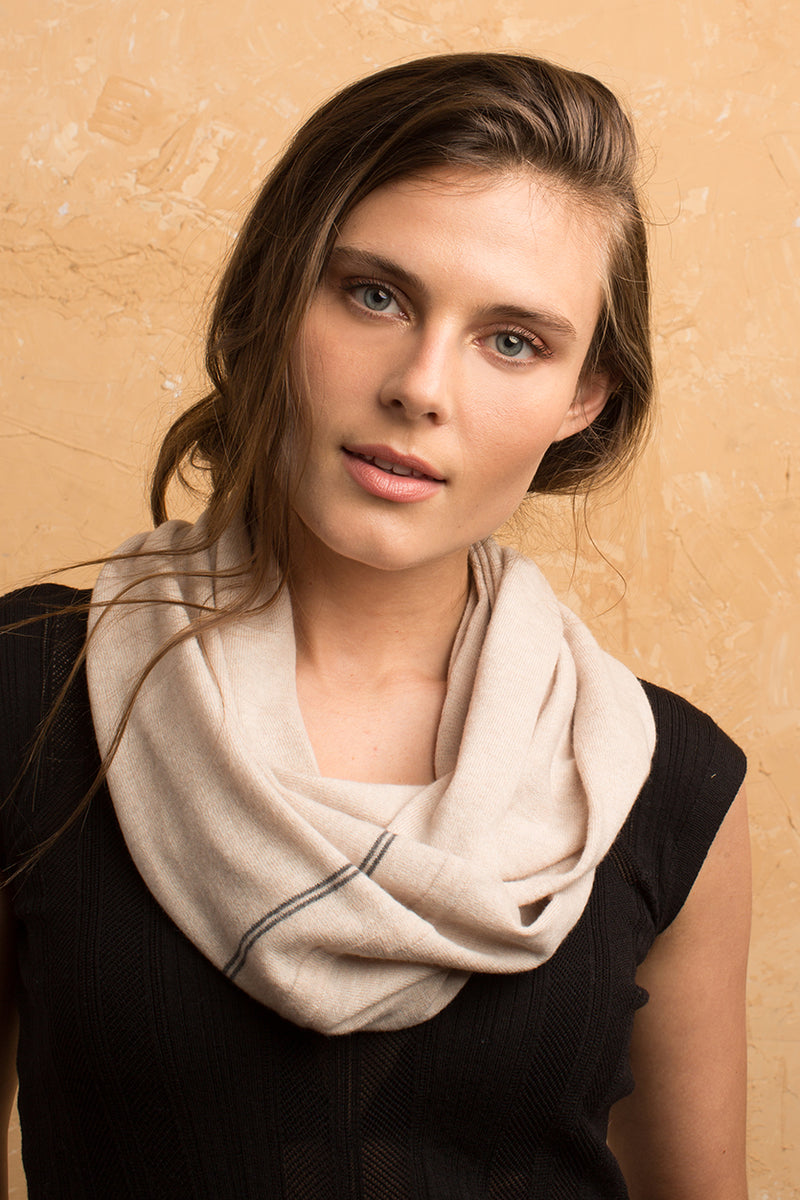 Cashmere Blend Infinity Scarf