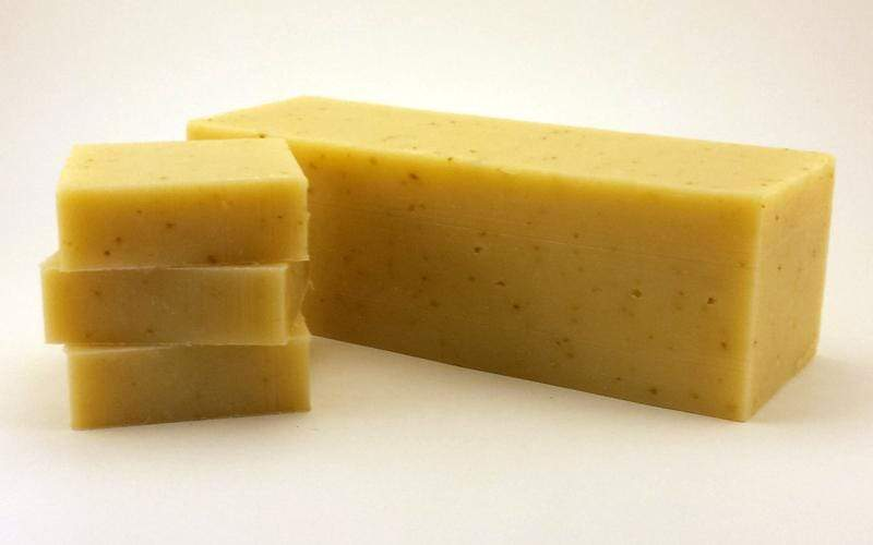 Goat's Milk Bar Soap- Patchouli Sandalwood- Zero_Waste_Hub