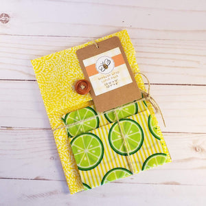Reusable Beeswax food wrap -Lunch Kit- Zero_Waste_Hub