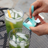 Mint Reusable silicone straw + case- Zero_Waste_Hub
