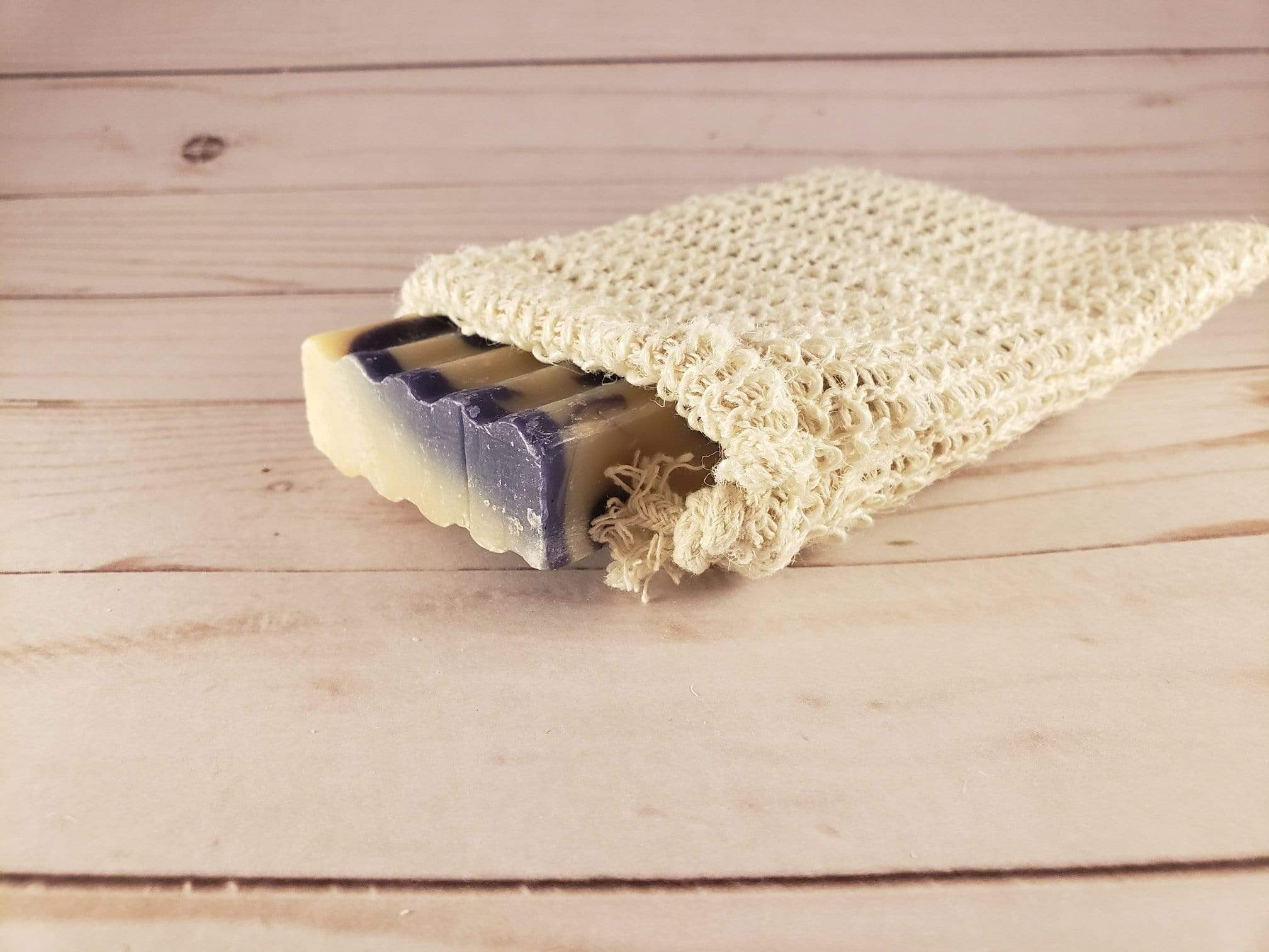 Sisal Soap Sack and Saver- Zero_Waste_Hub