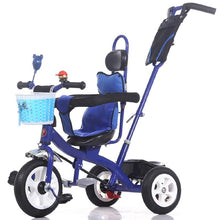 Load image into Gallery viewer, Inflatable 3 Wheel Baby Stroller Baby Bicycle Child Bicycle Baby Trolley Tricycles For Children Baby Pushchair Tricycle Stroller