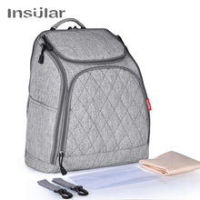 Load image into Gallery viewer, INSULAR Mother Tote Bag Baby Nappy Changing Bags Large Capacity Maternity Mummy Diaper Backpack Baby Stroller Bag