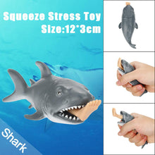 Load image into Gallery viewer, Funny Toy Shark Squeeze