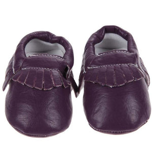 Spring Baby Shoes PU Leather Baby Girls Moccasins Shoes Kids Boys Soft Non-slip Footwear for Newborns Crib Shoes 0-18 Months