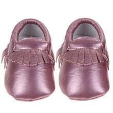 Load image into Gallery viewer, Spring Baby Shoes PU Leather Baby Girls Moccasins Shoes Kids Boys Soft Non-slip Footwear for Newborns Crib Shoes 0-18 Months
