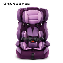 Load image into Gallery viewer, Portable Thick Car Seat For Kid And Children 5 Point Harness Safe Cushions For 9M~12Y Children With Safety Belt Safety Baby Seat