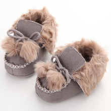 Load image into Gallery viewer, Winter Soft Cotton Baby First Walker Baby Shoes Boy Toddler Keep Warm Thick Shoes Newborn Baby Shoes Infant Shoes