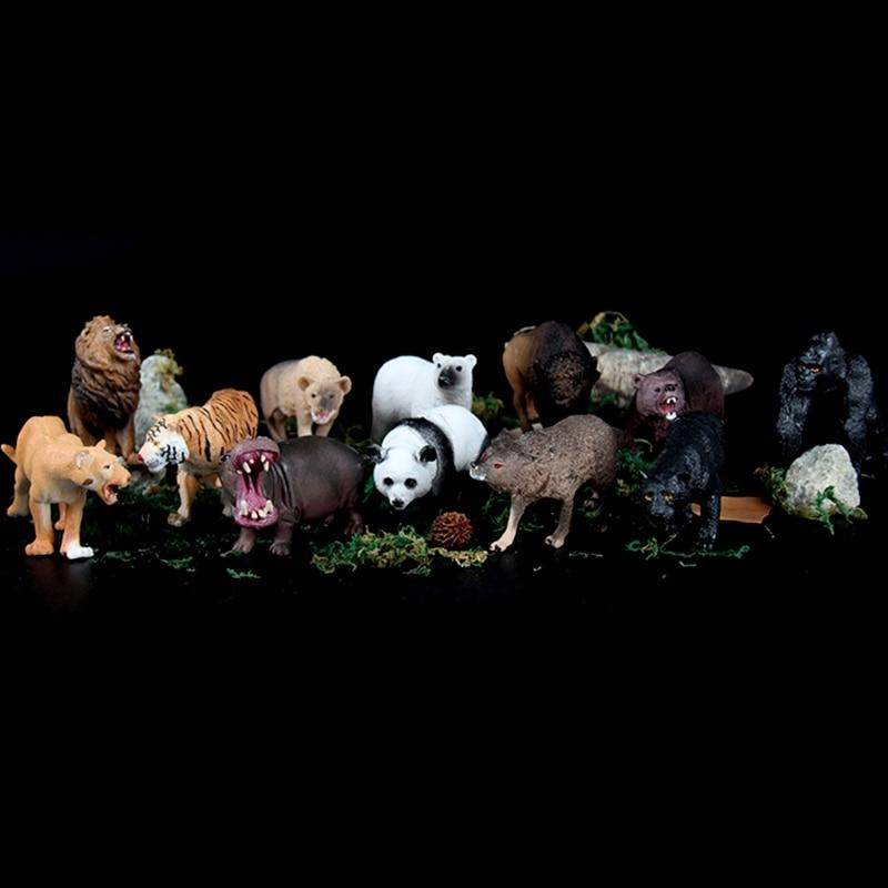Plastic Zoo Animal Figure