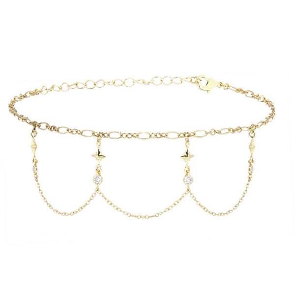 Buried Treasure Gold Choker Necklace