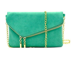 Minuet Envelope Clutch- Mint