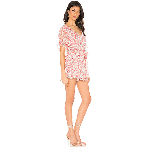 Picking Roses Romper Revolve