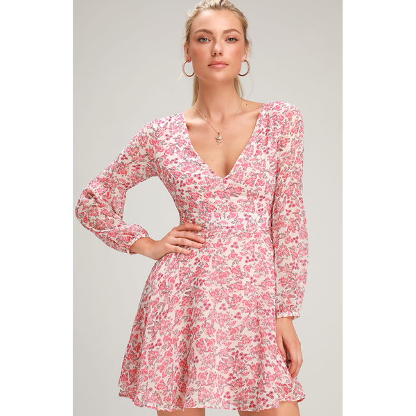Sunday Brunch Floral printed Dress Revolve BB Dakota
