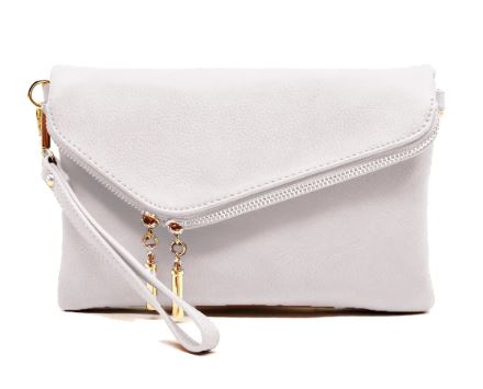 White Clutch Cross Over Bag Vici Nordstrom