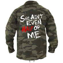 Load image into Gallery viewer, HALF OF ME RAIN JACKET (CAMO)