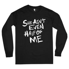 Load image into Gallery viewer, HALF OF ME LS TEE (BLACK)
