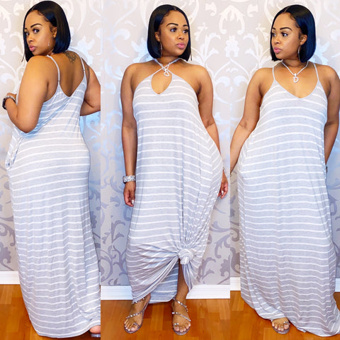 Kelly Grey Maxi