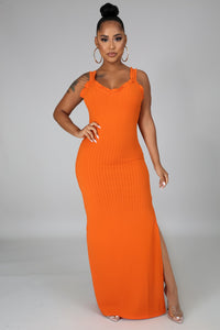 She's A Dream Dress - Orange