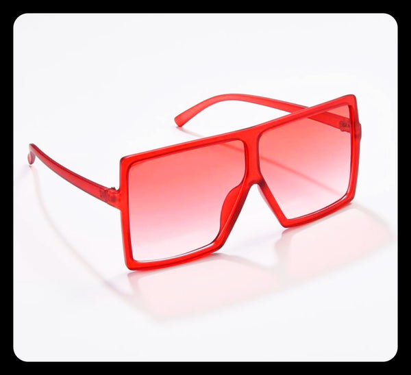 Red Tint Sunglasses