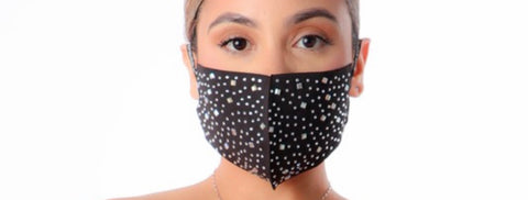 Blinged Out Face Mask