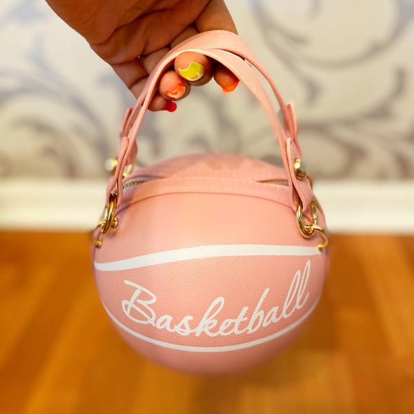 Mini Basketball Bag - Pink