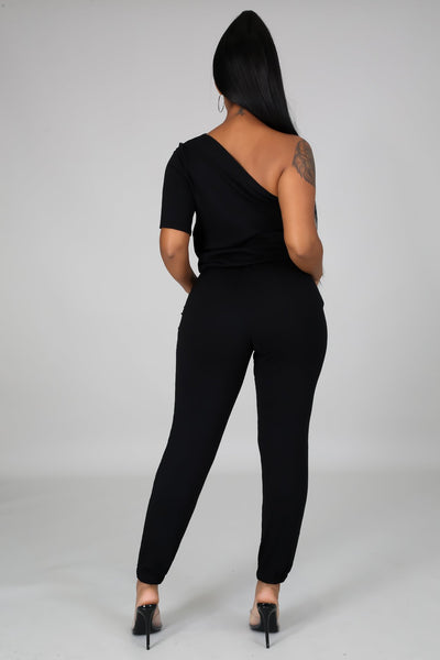 On The Daily Jumpsuit - Black