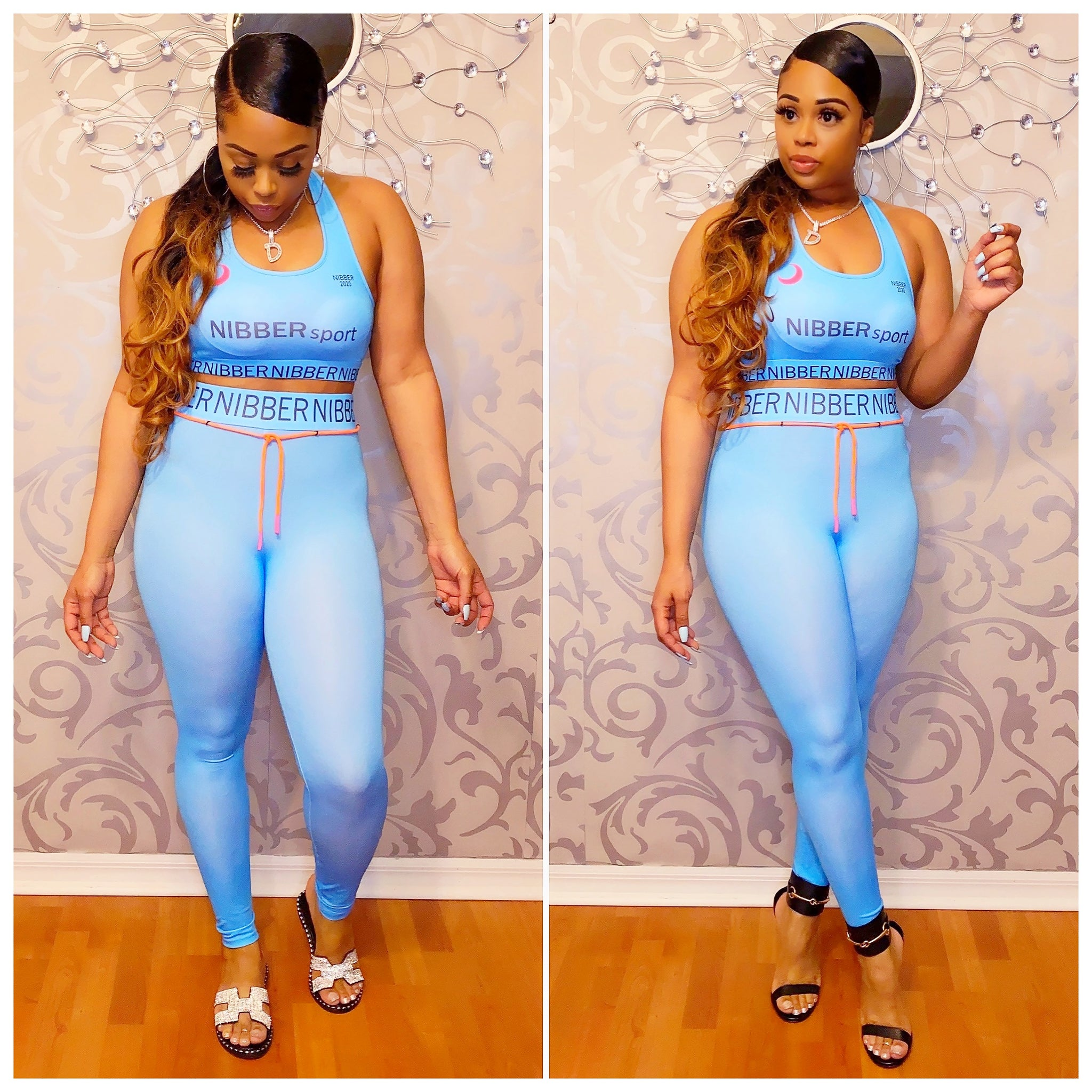 Designer Sports Tracksuit - Blue