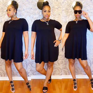 Easy Breezy Dress - Black